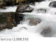 Купить «Горная река», фото № 2008510, снято 20 августа 2010 г. (c) Александр Давыдов / Фотобанк Лори