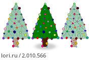 Купить «Новогодние ёлки», иллюстрация № 2010566 (c) Татьяна Васина / Фотобанк Лори
