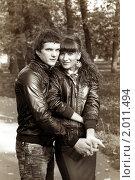 Купить «Осенняя история любви», фото № 2011494, снято 26 сентября 2010 г. (c) Okssi / Фотобанк Лори