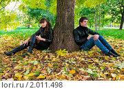 Купить «Осенняя история любви», фото № 2011498, снято 26 сентября 2010 г. (c) Okssi / Фотобанк Лори