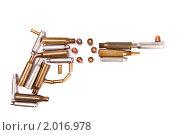 Купить «Револьвер», фото № 2016978, снято 16 января 2010 г. (c) Денис Миронов / Фотобанк Лори