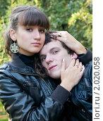 Купить «Осенняя история любви», фото № 2020058, снято 26 сентября 2010 г. (c) Okssi / Фотобанк Лори