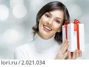 Рождественские подарки. Стоковое фото, фотограф Константин Юганов / Фотобанк Лори