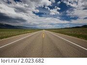 Дорога в Колорадо (2009 год). Стоковое фото, фотограф Валерий Чуркин / Фотобанк Лори