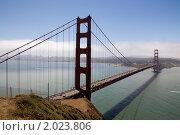 Мост Золотые Ворота (2010 год). Стоковое фото, фотограф Валерий Чуркин / Фотобанк Лори