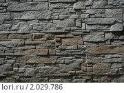 Каменная стена. Стоковое фото, фотограф Александр Гречин / Фотобанк Лори