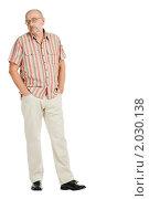 Портрет пожилого мужчины. Стоковое фото, фотограф Никита Буйда / Фотобанк Лори
