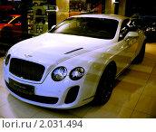 Купить «Автомобиль Бэнтли», фото № 2031494, снято 1 октября 2010 г. (c) Баева Татьяна Александровна / Фотобанк Лори