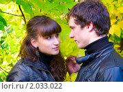Купить «Осенняя история любви», фото № 2033022, снято 26 сентября 2010 г. (c) Okssi / Фотобанк Лори