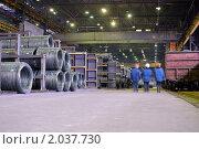 Промышленный склад. Стоковое фото, фотограф Maximilian Pogonii / Фотобанк Лори