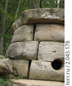 Дольмены Кавказа. Стоковое фото, фотограф Анна Гаматина / Фотобанк Лори