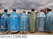 Молебен у обелиска на Бородинском поле (2010 год). Редакционное фото, фотограф Ирина Фирсова / Фотобанк Лори