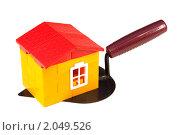 Купить «Дом и рабочий инструмент», фото № 2049526, снято 11 октября 2010 г. (c) Дмитрий Грушин / Фотобанк Лори