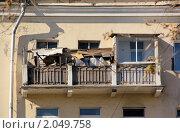 Купить «Захламленный балкон», фото № 2049758, снято 10 октября 2010 г. (c) Илюхина Наталья / Фотобанк Лори