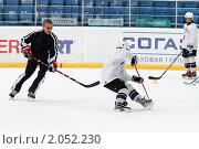 Купить «Мастер - класс легенд мирового хоккея в Балашихе», эксклюзивное фото № 2052230, снято 13 октября 2010 г. (c) Дмитрий Неумоин / Фотобанк Лори