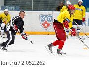 Купить «Мастер - класс легенд мирового хоккея в Балашихе», эксклюзивное фото № 2052262, снято 13 октября 2010 г. (c) Дмитрий Неумоин / Фотобанк Лори