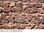 Каменная стена, фон. Стоковое фото, фотограф Василий Геворкян / Фотобанк Лори