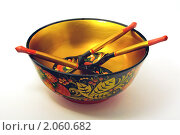 Хохломская посуда. Стоковое фото, фотограф Dmitry Lameko / Фотобанк Лори