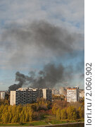 Купить «Пожар», фото № 2060902, снято 18 октября 2010 г. (c) Лена Лазарева / Фотобанк Лори