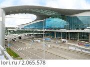 Купить «Аэропорт Шереметьево, терминал D (Москва)», фото № 2065578, снято 23 августа 2010 г. (c) Дмитрий Яковлев / Фотобанк Лори