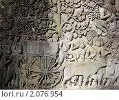 Камбоджа. Ангкор. Настенные рисунки. (2009 год). Стоковое фото, фотограф Светлана Степачёва / Фотобанк Лори