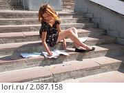 Купить «Зачетная неделя в университете», фото № 2087158, снято 6 августа 2009 г. (c) Олег Тыщенко / Фотобанк Лори