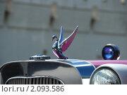 Купить «Изящная фигурка лебедя. Фрагмент автомобиля LINCOLN (США)», эксклюзивное фото № 2093586, снято 5 июня 2010 г. (c) lana1501 / Фотобанк Лори