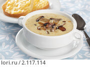Купить «Грибной суп», фото № 2117114, снято 7 сентября 2010 г. (c) Stockphoto / Фотобанк Лори