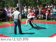 Купить «Бой», фото № 2121970, снято 19 июня 2010 г. (c) Наталья Блинова / Фотобанк Лори