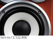 Купить «Динамик колонки», эксклюзивное фото № 2122806, снято 6 ноября 2010 г. (c) Юрий Морозов / Фотобанк Лори