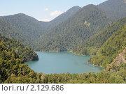 Озеро Рица. Стоковое фото, фотограф Еремин Владимир / Фотобанк Лори