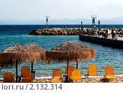 Пляж. Стоковое фото, фотограф Максим Шагалов / Фотобанк Лори
