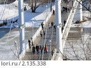 На  мосту. Стоковое фото, фотограф Евгений Безгодов / Фотобанк Лори