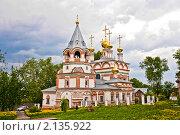 Церковь Богоявления Господня, Соликамск (2010 год). Стоковое фото, фотограф Вячеслав Копотий / Фотобанк Лори