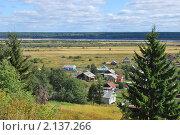 Северная деревня (2010 год). Стоковое фото, фотограф Ванеева Валентина / Фотобанк Лори
