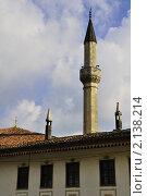 Купить «Ханский дворец - бывшая резиденция крымских ханов. Крым. Бахчисарай», фото № 2138214, снято 27 июня 2019 г. (c) T&B / Фотобанк Лори