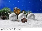 Купить «Рождественский натюрморт», фото № 2141366, снято 10 ноября 2010 г. (c) Литова Наталья / Фотобанк Лори