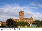 Купить «Кафедральный собор, Ливерпуль», фото № 2142438, снято 1 октября 2010 г. (c) Юлия Бобровских / Фотобанк Лори