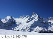 Панорама Главного Кавказского хребта. Стоковое фото, фотограф Тамара Магомедова / Фотобанк Лори