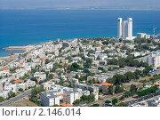 Купить «Израиль. Хайфа. Панорама города», фото № 2146014, снято 14 октября 2010 г. (c) Зобков Георгий / Фотобанк Лори
