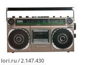 Купить «Старая магнитола», фото № 2147430, снято 25 августа 2010 г. (c) Иван Бондаренко / Фотобанк Лори