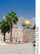 Купить «Израиль. Иерусалим. Храмовая гора», фото № 2151526, снято 11 октября 2010 г. (c) Зобков Георгий / Фотобанк Лори