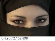 Женщина в восточном платке. Стоковое фото, фотограф Кравченко Юлия / Фотобанк Лори
