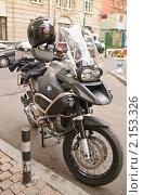 Купить «Мотоцикл BMW», эксклюзивное фото № 2153326, снято 10 августа 2010 г. (c) Алёшина Оксана / Фотобанк Лори