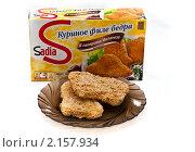 Купить «Куриное филе бедра в панировке», фото № 2157934, снято 23 ноября 2010 г. (c) Куликова Вероника / Фотобанк Лори