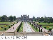Тадж-Махал, Индия (2010 год). Стоковое фото, фотограф Унчикова Екатерина Андреевна / Фотобанк Лори