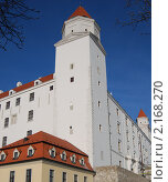 Замок в Братиславе, Словакия. Стоковое фото, фотограф Унчикова Екатерина Андреевна / Фотобанк Лори