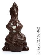 Шоколадный улыбающийся заяц. Стоковое фото, фотограф Александр Черемнов / Фотобанк Лори