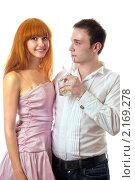 Купить «Молодая пара», фото № 2169278, снято 3 августа 2009 г. (c) Сергей Сухоруков / Фотобанк Лори