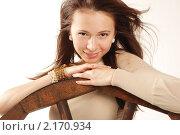 Портрет красивой девушки. Стоковое фото, фотограф Дарья Силич / Фотобанк Лори